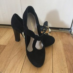 Franco Sarto classic Mary Jane heel